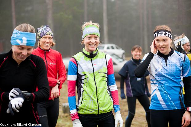 Eva Jurenikova, Anna Mårsell, Lena Eliasson & Tove Alexandersson på plats.