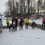 Starten Sprintstafett Gammelgården
