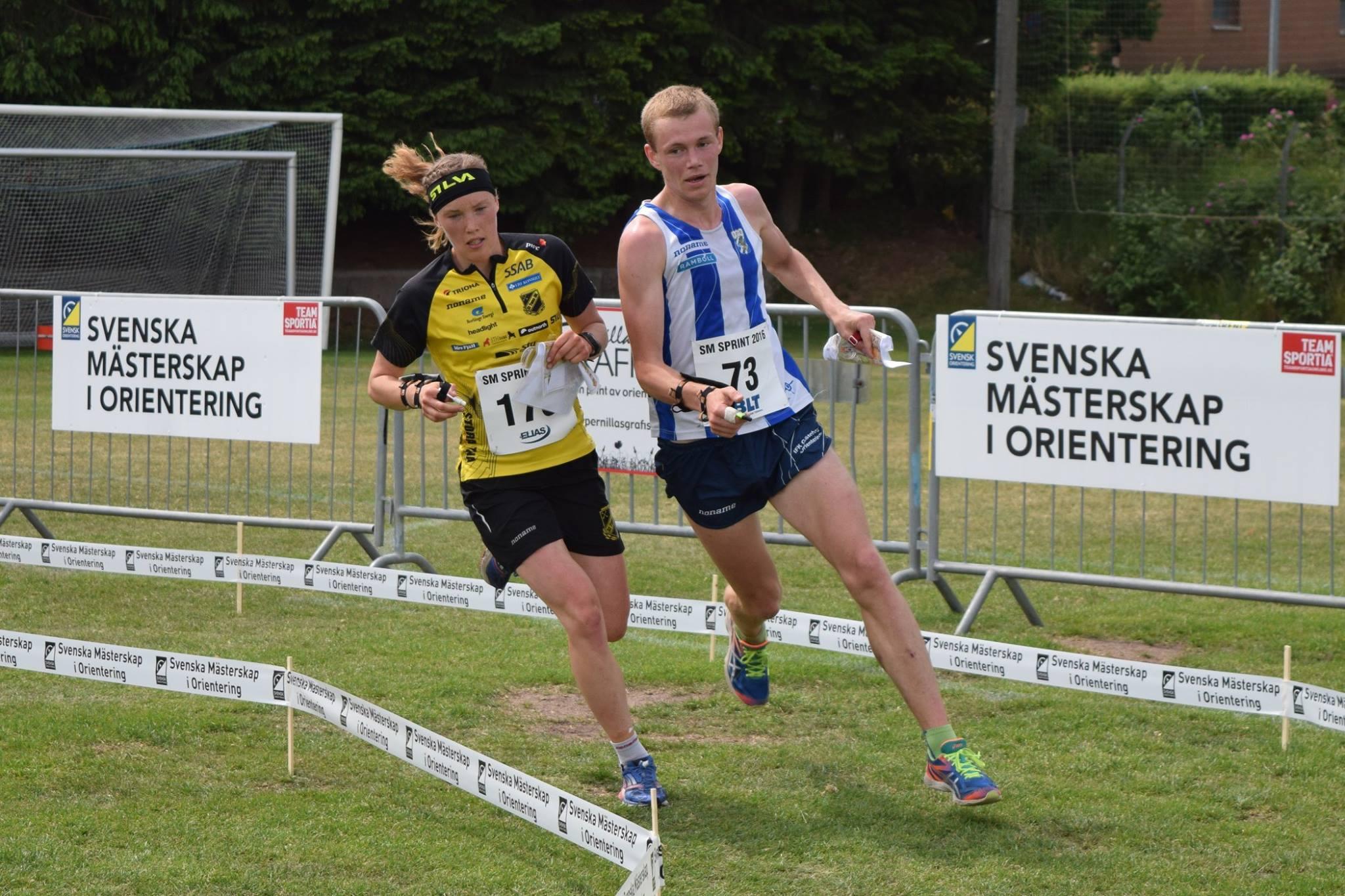 tove amp eskil sm sprint 2016
