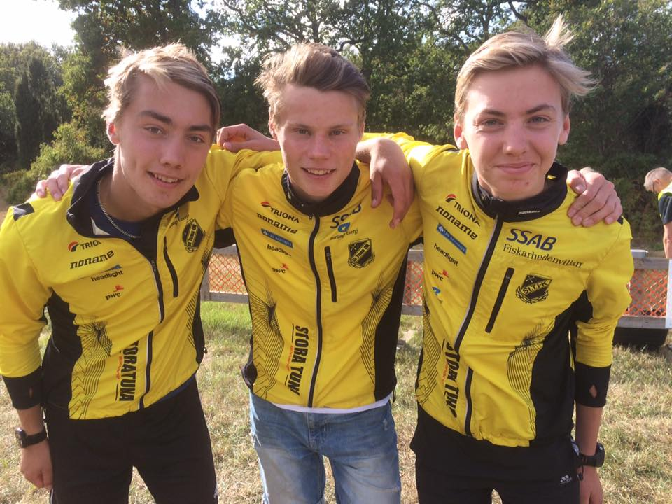 Silverlaget: Jesper, Henning & Viktor. Foto: Peo Svensk
