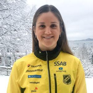 Magdalena Olsson fotad i Älvdalen i helgen av Tove Alexandersson